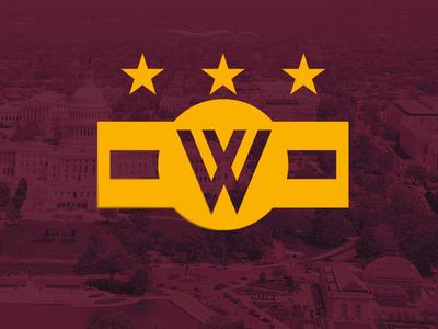 Washington Redtails redskins washington dc concept logo sports football nfl