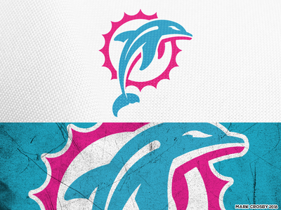Miami Dolphins Option 2 vice brand logos sports nfl