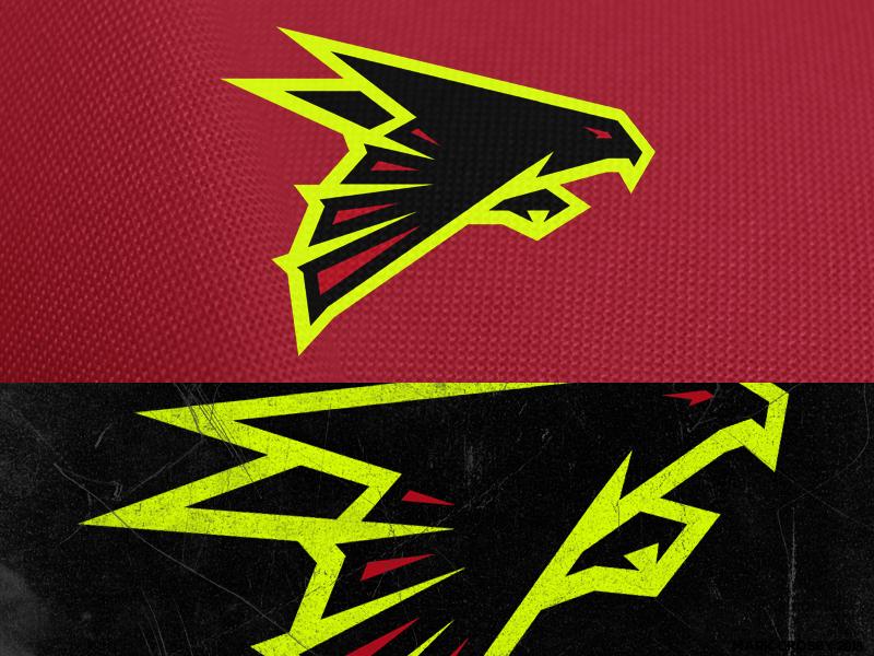 Atlanta Falcons By Mark Crosby On Dribbble