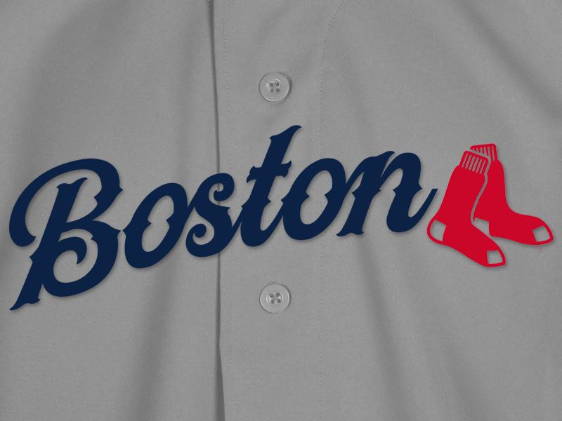 Boston Red Sox Script baseball al mlb