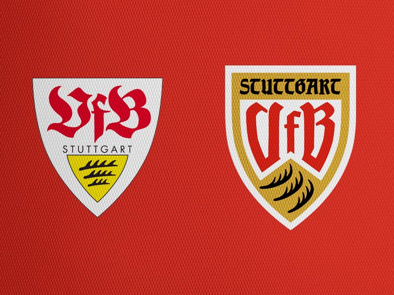 VFB Stuttgart crest logo sports soccer crest redesign football soccer bundesliga stuttgart