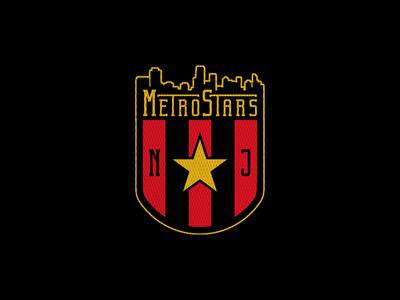 online store a0bf4 680b2 New Jersey Metrostars by Mark Crosby on Dribbble