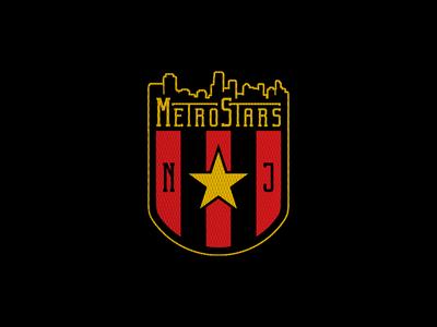 New Jersey Metrostars mlsdev mls crest concept soccer football logo sports