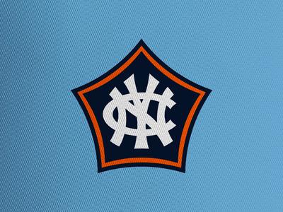 New York City FC mls crest concept soccer football logo sports