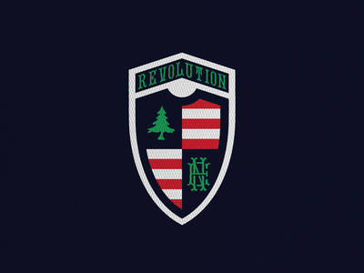 New England Revolution ml boston new england mls crest concept soccer football logo sports