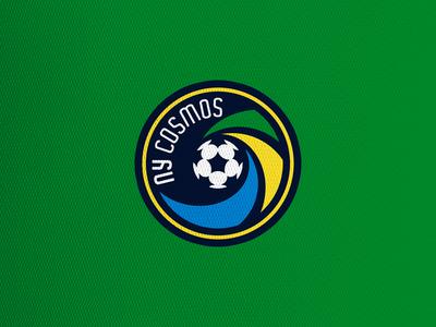 New York Cosmos mls crest concept soccer football logo sports