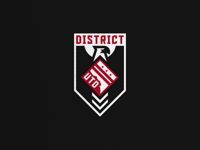 District United concept football logo sports soccer mls dc united dcu