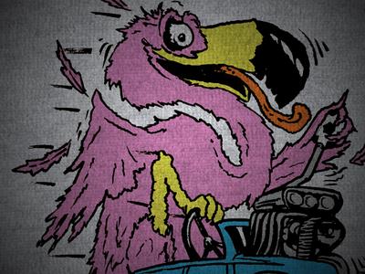 Flamingo Fink forward madison fc madison ratfink