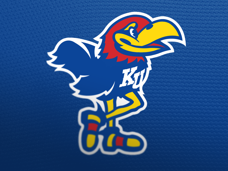rock chalk jayhawk by mark crosby dribbble
