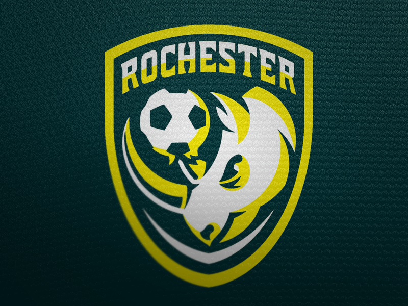 Rochester Rhinos FC sports logos branding soccer football rochester rhinos