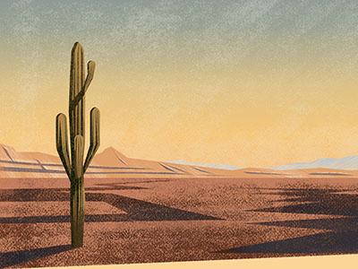 Desert adobe photoshop adobe illustrator olga hashim design inspiration graphic designer graphic design landscape desert couple texture illustrator illustration