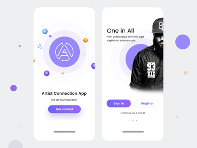 Design artists IOS UI