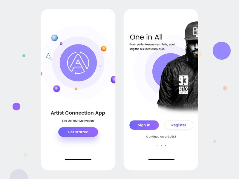 Design artists IOS UI best design photoshop debut designer logo design art new 2019 vector design app ios app ui ios artists design