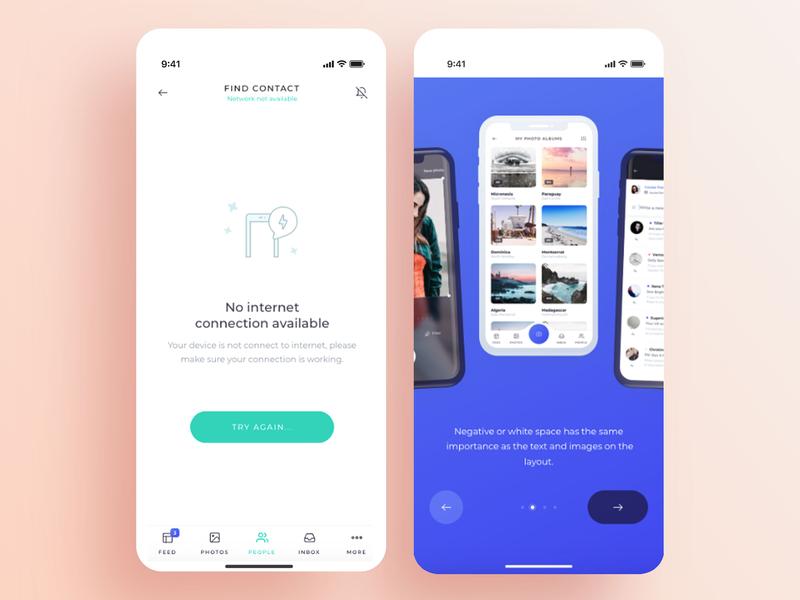 Design create fresh IOS UI by Bilal Laaroussi on Dribbble