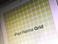 Ipad Retina Grid