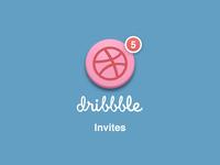Dribbble Invites x5