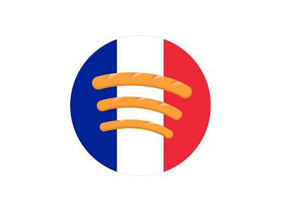 Spotify France baguette france spotify