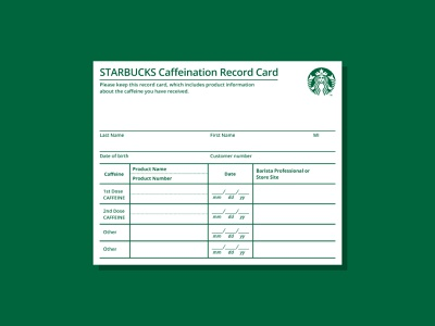 Bad Starbucks Marketing Idea parody coffee caffeine card vaccine starbucks marketing bad