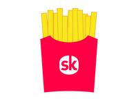 SkDonalds Fries