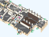St. John Lutheran Church & School 3-D map illustration