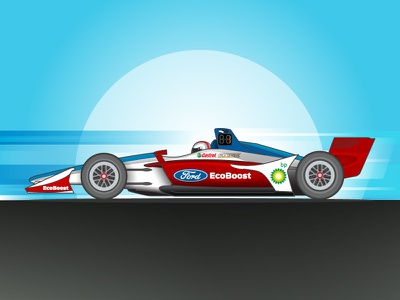 Indycar Ford Livery concept racing ford racecar motorsports livery indycar