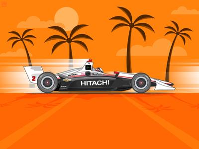 Indycar 2019 St. Petersburg Grand Prix Winner