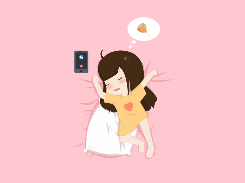 Sleep 打电话 phone drumsticks have a dream 做梦 鸡腿 睡觉 ui design 100days 插画 illustration sleeping sleep