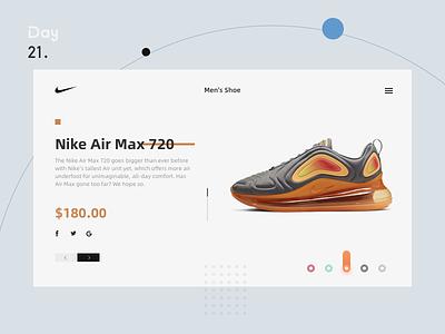 Buy shoes nike 电商 购物界面 选择颜色 shopping ui web ui web design web choose color interface app shoes