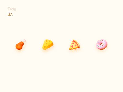 Food icon 图标 甜甜圈 披萨 奶酪 food app 鸡腿 食物图标 doughnut pizza cheese drumsticks food icon food icon