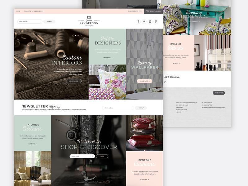 Graham Sanderson ux branding responsive ui design web design