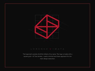 Personal Branding - Lorence Iwata logo design branding branding agency logodesign logo branding design brand identity brand design brand