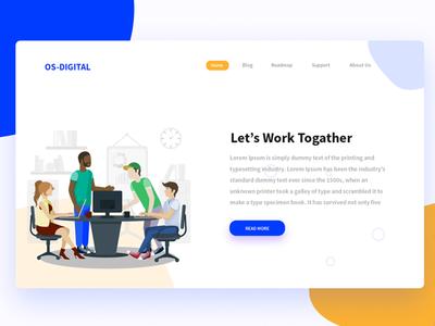 OS Digital Landing Page