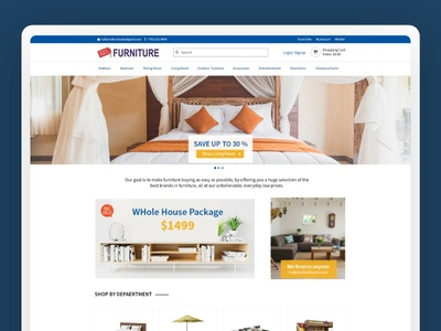 Half Price Furniture Website