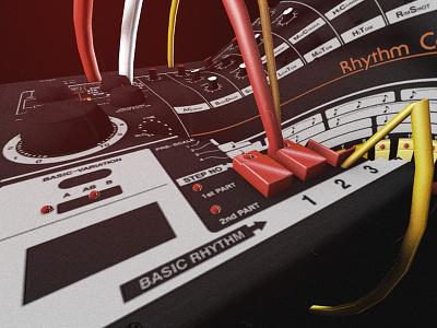 TR-808 Visuals tr 808 808 bass music miguex accentcreative roland