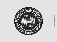 Hospital Records Stripe Logo