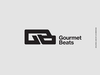 Gourmetbeats Brand Re-Design record label accent creative dubplate vinyl dubstep joe nice gourmetbeats