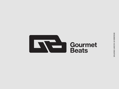 Gourmetbeats Brand Re-Design record label accent creative dubplate vinyl dubstep joe nice gourmetbeats