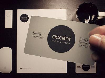Brand ID accent accent creative design edm music electronic business card logo brand california dj producer freelance san diego