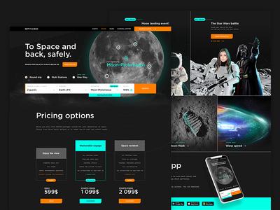 SPACEDchallenge - website contest flight mars moon star wars galaxy space spacedchallenge