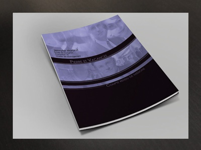 Couv Dossier activity activity report record report individual private corporate document artwork cover