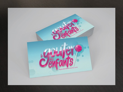 Logo Card Gouter Enfants