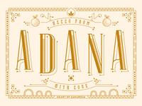Adana Postcard