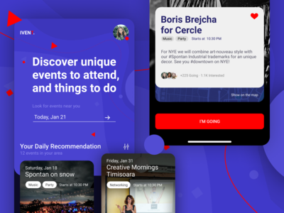 IVENT. - Social Events and Things to DO