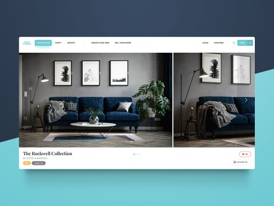Booteek Website collection furniture store furniture website web app ecommerce