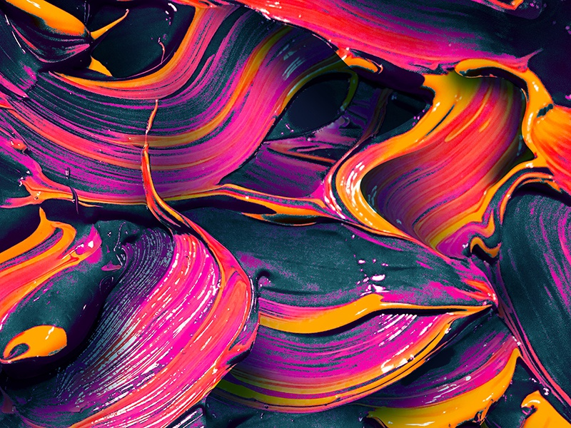 Painting 25 brush strokes texture painting
