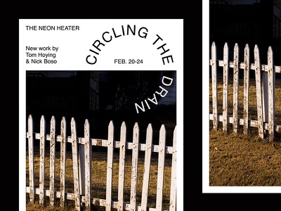 Circling The Drain photo nick boso tom hoying gallery show event flyer circling the drain