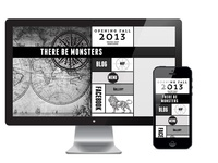 There Be Monsters Website