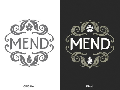 Mend Logo logo design