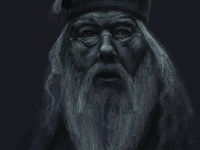 Dumbledore Quick Sketch