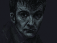 David Tennant (10th Doctor) Quick Sketch
